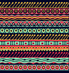 Ethnicity seamless pattern boho style ethnic vector