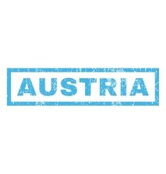 Austria Rubber Stamp vector image