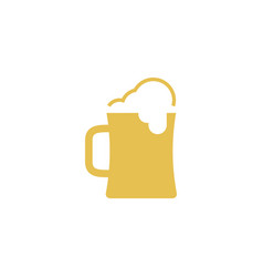 beer icon design template isolated vector image