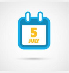 calendar icon - date vector image