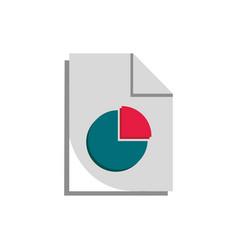 Diagram report economy money business finance vector