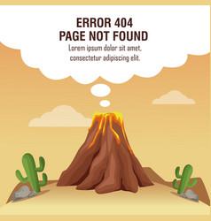 Error 404 vulcan theme vector