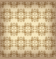 ornamental patterns set vector image