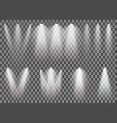 scene illumination light set vector image