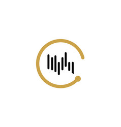 Sound icon with music and soundtrack vector