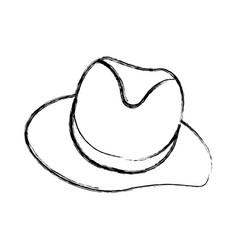 vintage male hat vector image