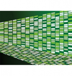 green wall background vector image vector image