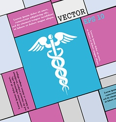 medicine icon sign Modern flat style for your vector image