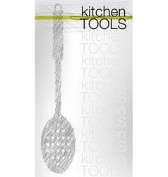 Spoon vector image vector image