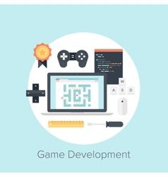 Game Development vector image
