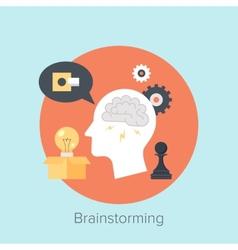 Brainstorming vector image