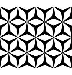 geometric texture polygonal floral ornament vector image