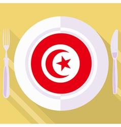 Kitchen of Tunisia vector