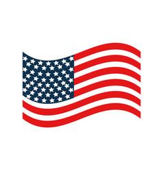 United stated flag patriot symbol vector