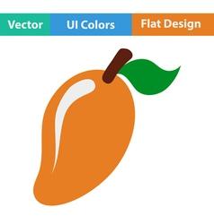 Flat design icon of Mango vector image