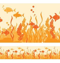 hot fish vector image vector image