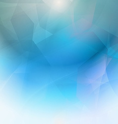 Abstract blue geometrical background vector
