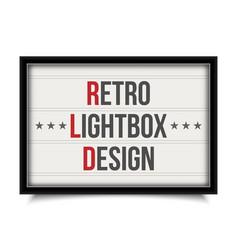 Creative of glowing cinema vector
