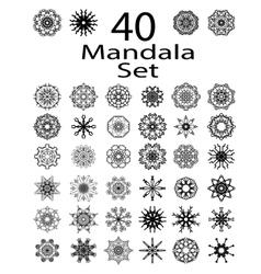 Ethnic Amulet of Mandala vector