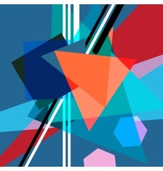 graphic abstract background vector image