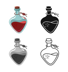 Potion and elixir icon vector
