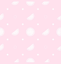 summer juicy print seamless pattern with vector image