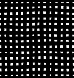 irregular checkered pattern vector image vector image