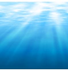 Undersea light vector image vector image