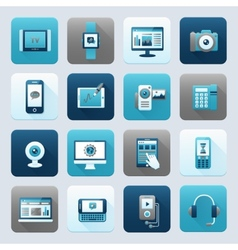 Internet and Mobile Device vector image vector image