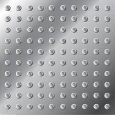 metal surface texture with nubs vector image