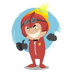 Red man vector