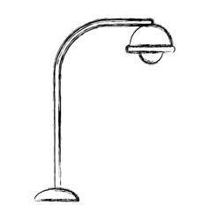 street light symbol vector image