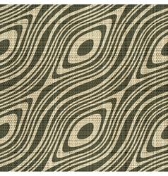 decorative wooden fiber textile print vector image