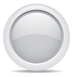 empty symbol icon luxury gray metal circle vector image vector image
