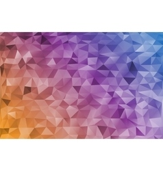 Mosaic rainbow abstract templates vector image vector image