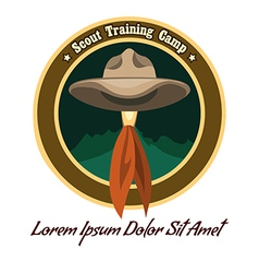 Scout logo vector image vector image