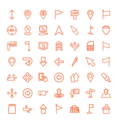 49 pointer icons vector