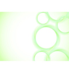 Abstract vivid rings background vector image