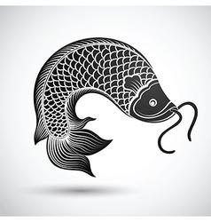 Chinese fish3 vector