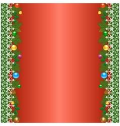 Christmas borders vector