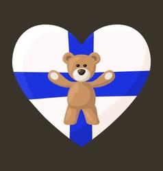 Finnish Teddy Bears vector