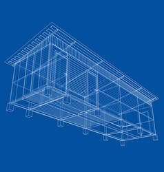 Household building project vector