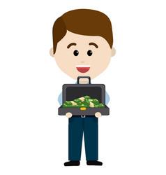 Isolated money icon design vector