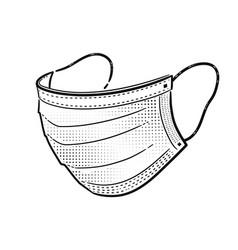 medical mask vector image