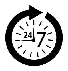 Opening hours vector