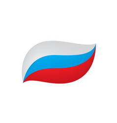 russia flag vector image