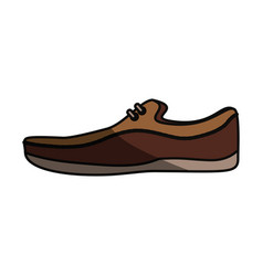 shoe for men vector image