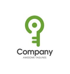 Smart key logo vector