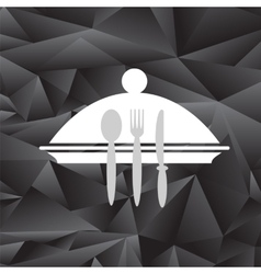 Symbol of Restaurant vector image vector image