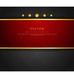 ribbon vintage vector image vector image